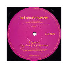 "LCD Soundsystem - 'Big Ideas/ Big Ideas (Babytalk Remix)' [(Black) 12"" Vinyl Single]"