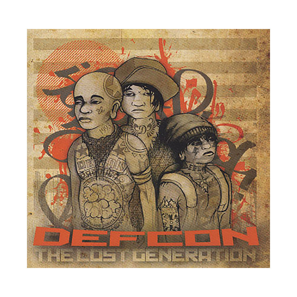 <!--2010030209-->Defcon - 'The Lost Generation' [CD]
