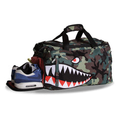 <!--020130108053133-->Sprayground - 'Camo Shark Weekender' [(Camo Pattern) Duffel Bag]