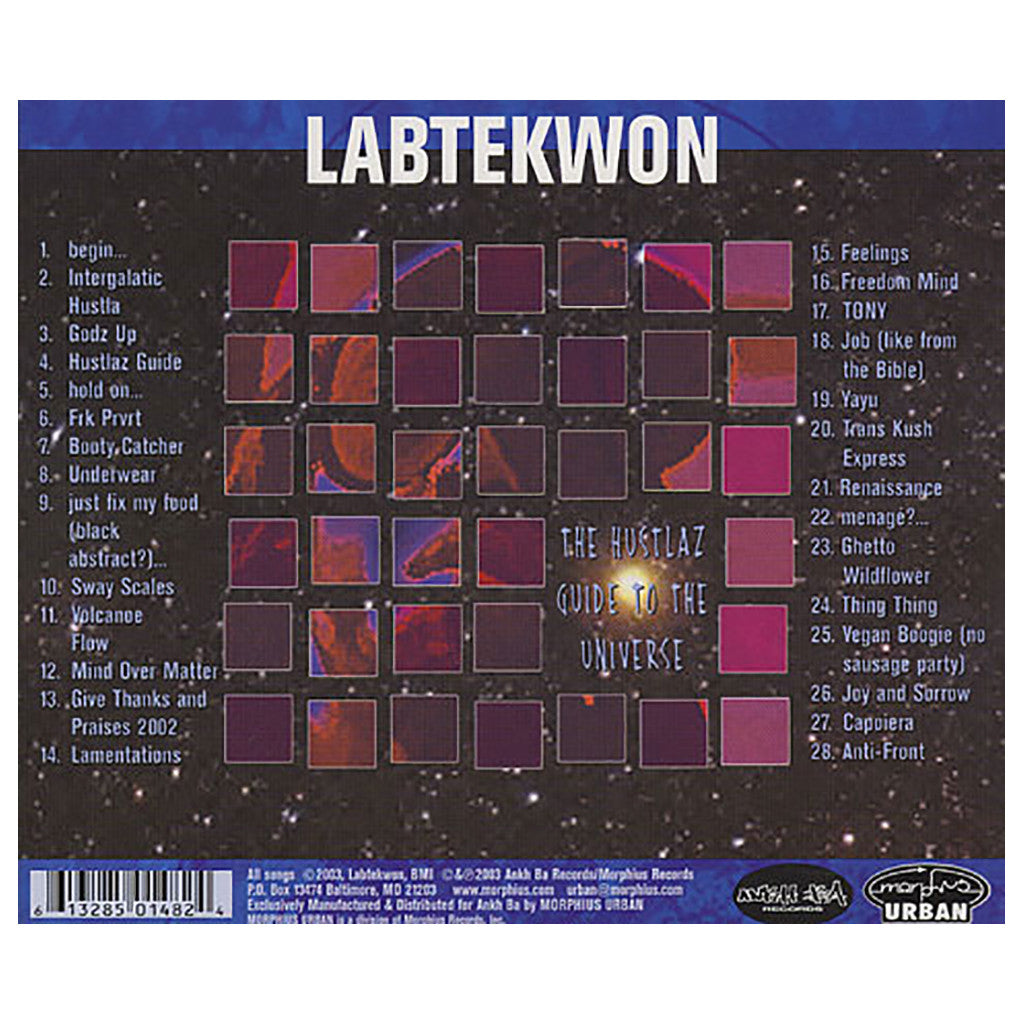 <!--020030506019091-->Labtekwon - 'The Hustlaz Guide To The Universe' [CD]