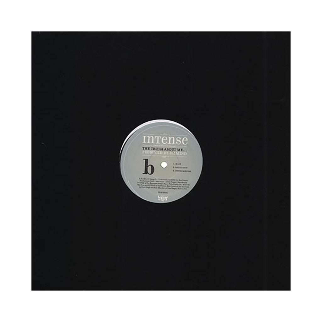 "<!--120051025005552-->Intense - 'A Healthy Obsession/ The Truth About Me...' [(Black) 12"" Vinyl Single]"