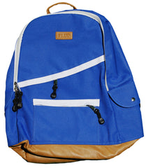 <!--020120306043135-->FLuD Watches - 'Diagonal Zip' [(Blue) Backpack]