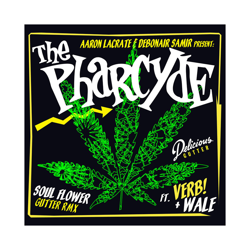 "The Pharcyde - 'Soul Flower (Gutter Remix)/ Soul Flower (Tatelarock Remix)' [(Black) 12"" Vinyl Single]"