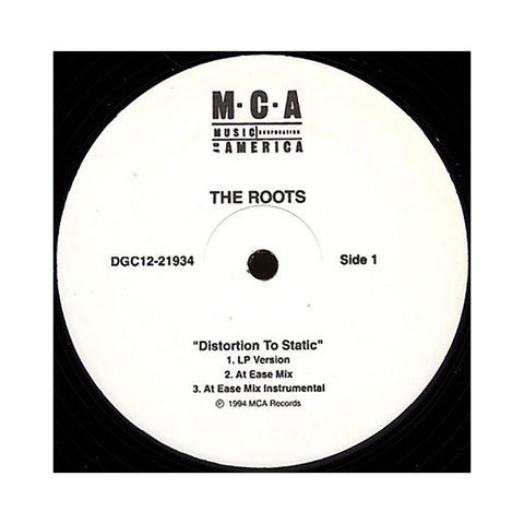 "The Roots - 'Distortion To Static/ Distortion To Static (Remixes)' [(Black) 12"""" Vinyl Single]"