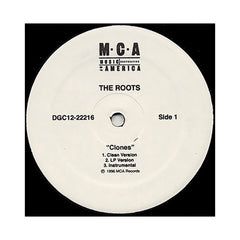"<!--019960924014254-->The Roots - 'Clones/ Section' [(Black) 12"" Vinyl Single]"