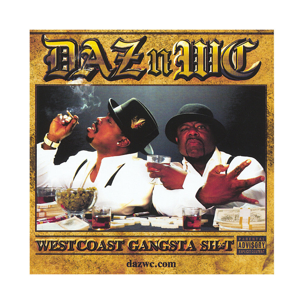 Daz Dillinger & WC - 'WestCoast Gangsta Shit' [CD]