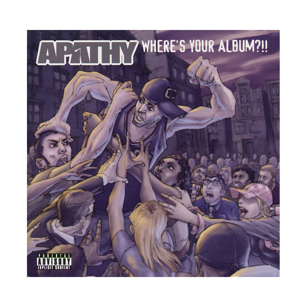 <!--2004112319-->Apathy - 'Where's Your Album?!!' [CD]