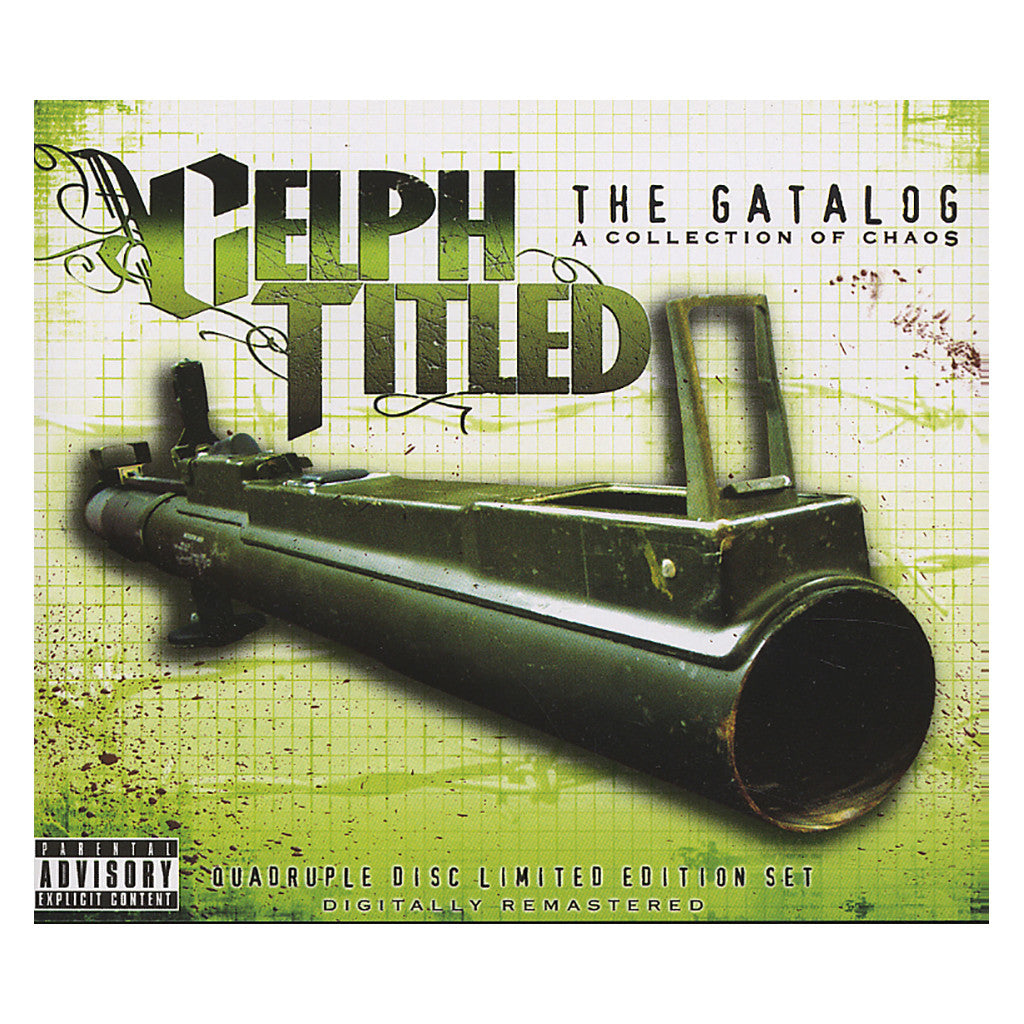 <!--2006102444-->Celph Titled - 'The Gatalog: A Collection Of Chaos (Best Of)' [CD [4CD]]
