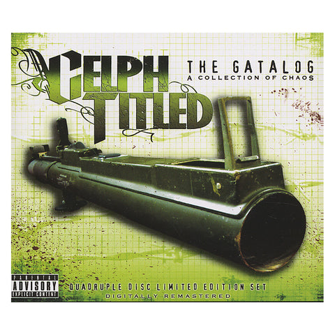 Celph Titled - 'The Gatalog: A Collection Of Chaos (Best Of)' [CD [4CD]]
