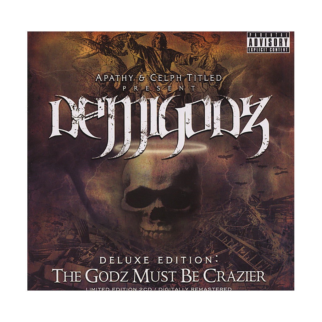 <!--020071120011099-->Demigodz (Apathy & Celph Titled Present) - 'The Godz Must Be Crazier (Deluxe Edition)' [CD [2CD]]