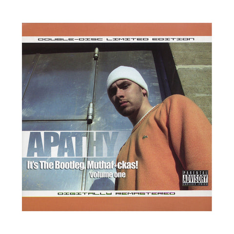 "[""Apathy - 'It's The Bootleg, Muthafuckas! Vol. 1' [CD [2CD]]""]"