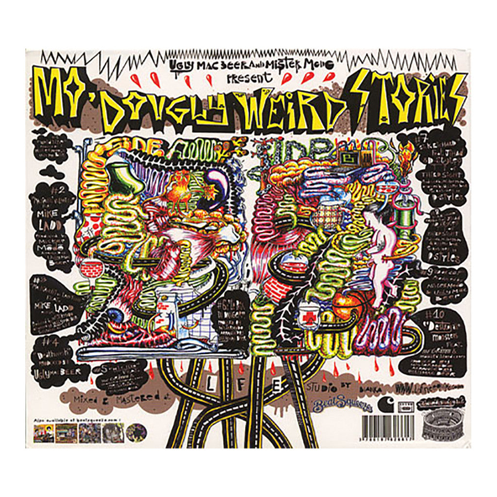 <!--020070605009877-->Mister Modo & Ugly Mac Beer - 'Mo Dougly Weird Stories' [CD]