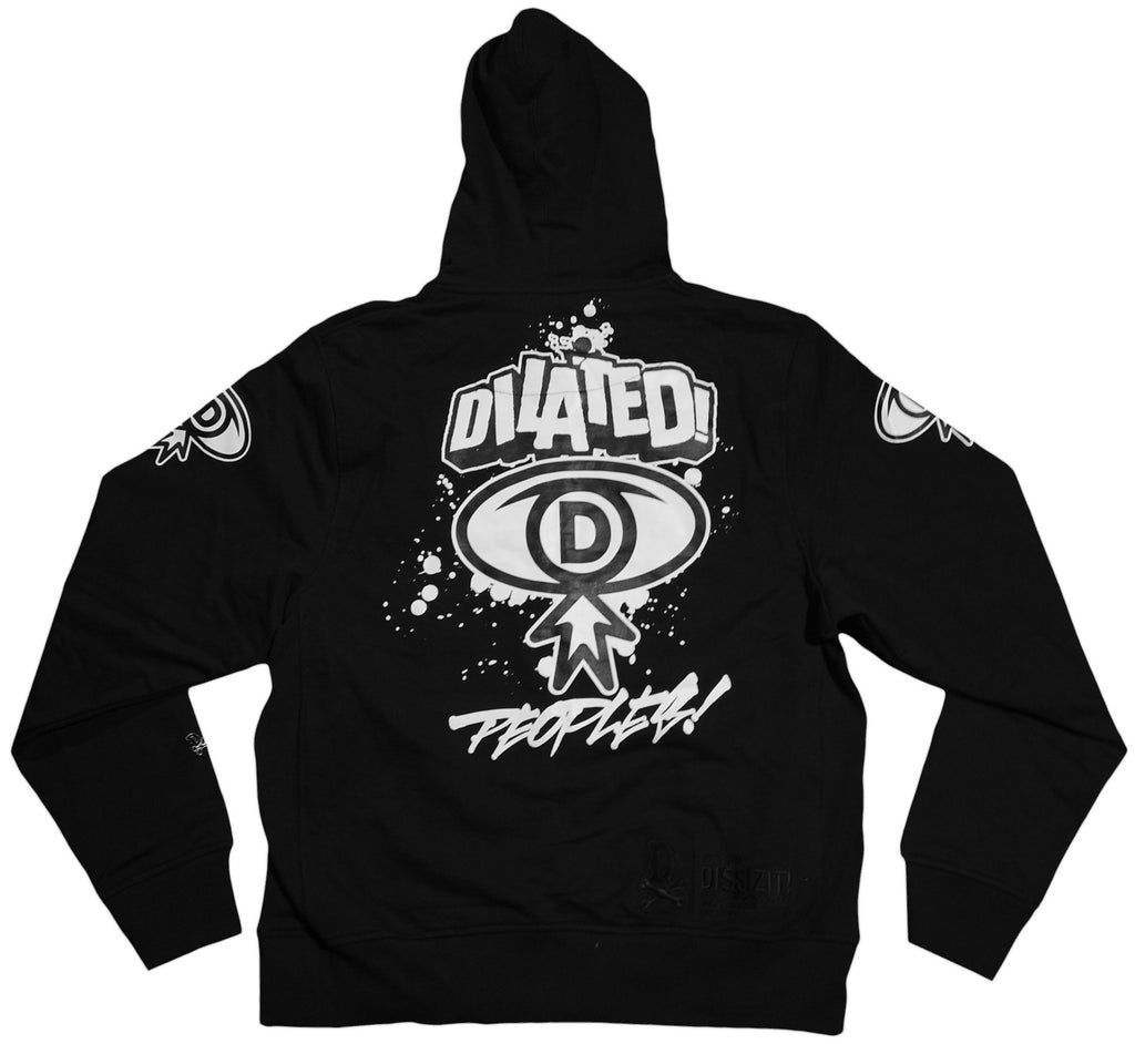 <!--2011082313-->Dissizit! x Dilated Peoples - 'Dilated' [(Black) Hooded Sweatshirt]