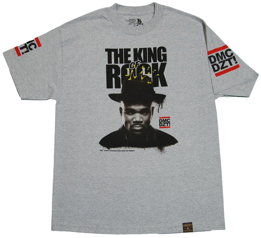 <!--2011101112-->Dissizit! x DMC - 'King Of Rock' [(Gray) T-Shirt]