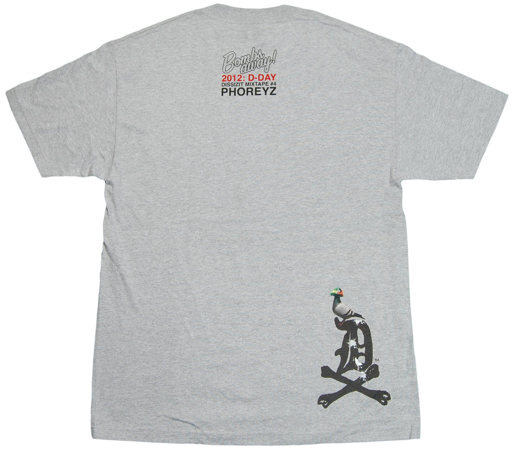 <!--2011112241-->Dissizit! x Phoreyz - 'Bombs Away' [(Gray) T-Shirt]