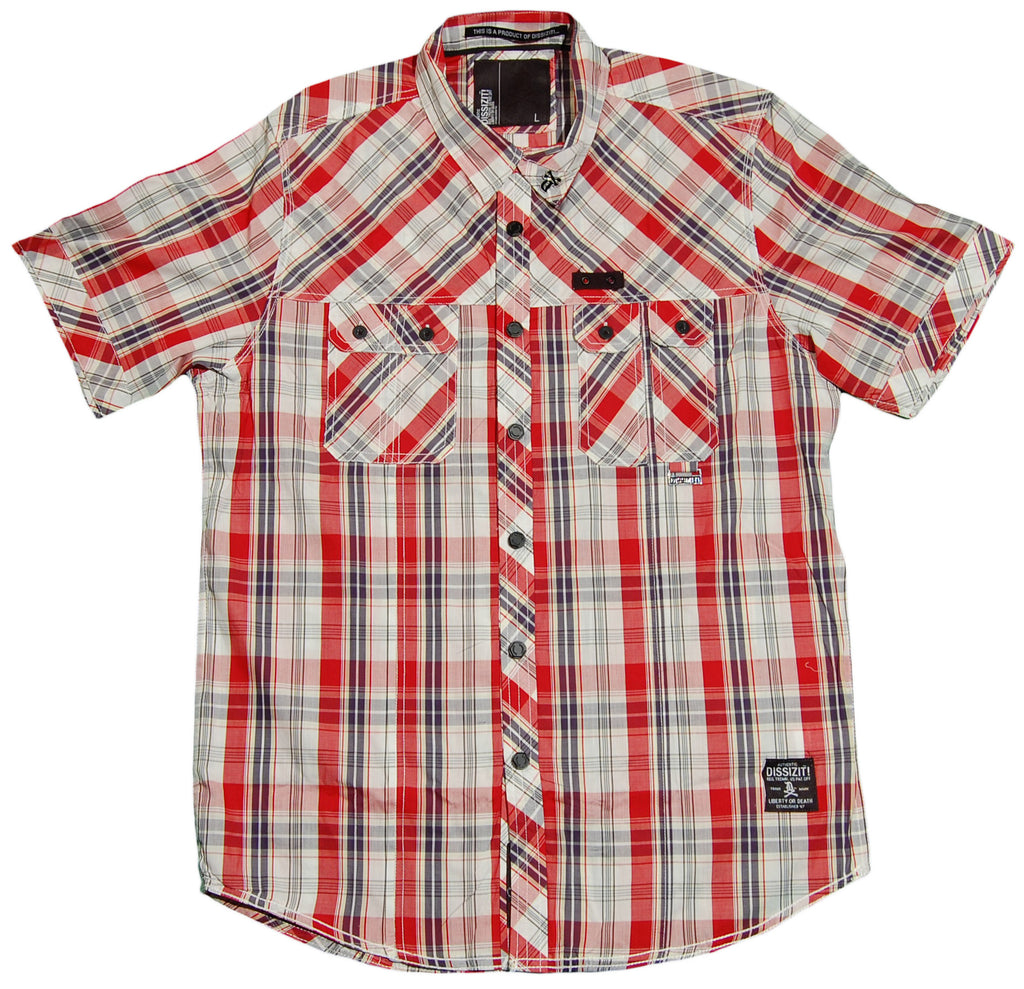 <!--2012042402-->Dissizit! - 'Squad' [(Multi-Color) Button Down Shirt]