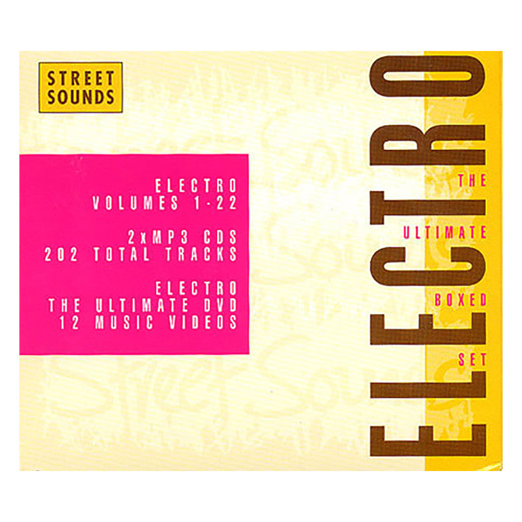 Various Artists - 'Electro: The Ultimate Boxed Set' [CD [3CD]]