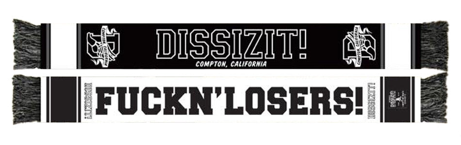 <!--020110830034852-->Dissizit! - 'Losers' [(Black) Scarf]