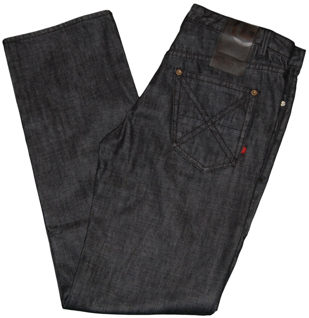 <!--2011101839-->Dissizit! - 'Patent Denim - Relax Fit' [(Black) Jeans]