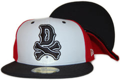 <!--2011083047-->Dissizit! - 'DBones Neon' [(Red) Fitted Hat]
