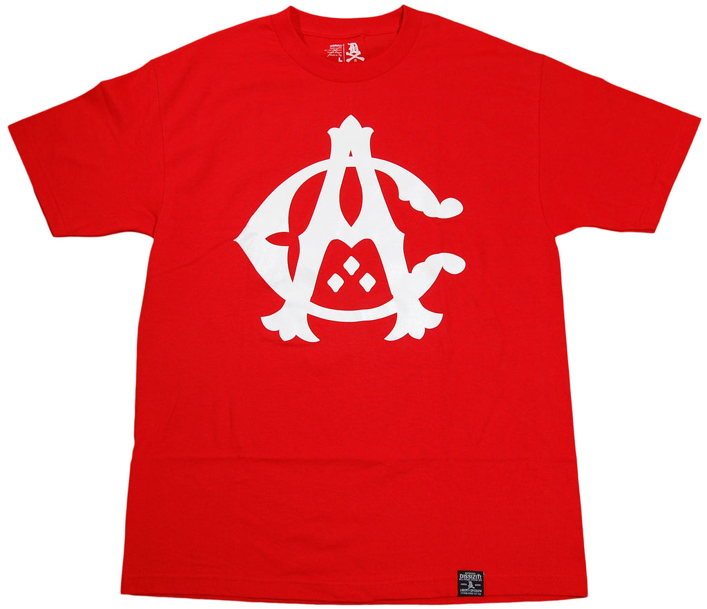<!--2011030841-->Dissizit! - 'Cali Monogram' [(Red) T-Shirt]