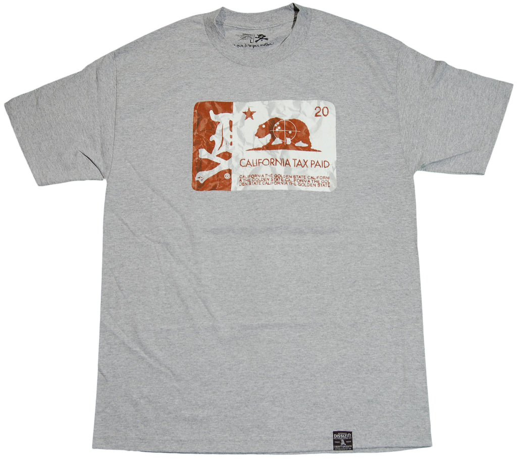 <!--2011083030-->Dissizit! - 'CaliTax' [(Gray) T-Shirt]