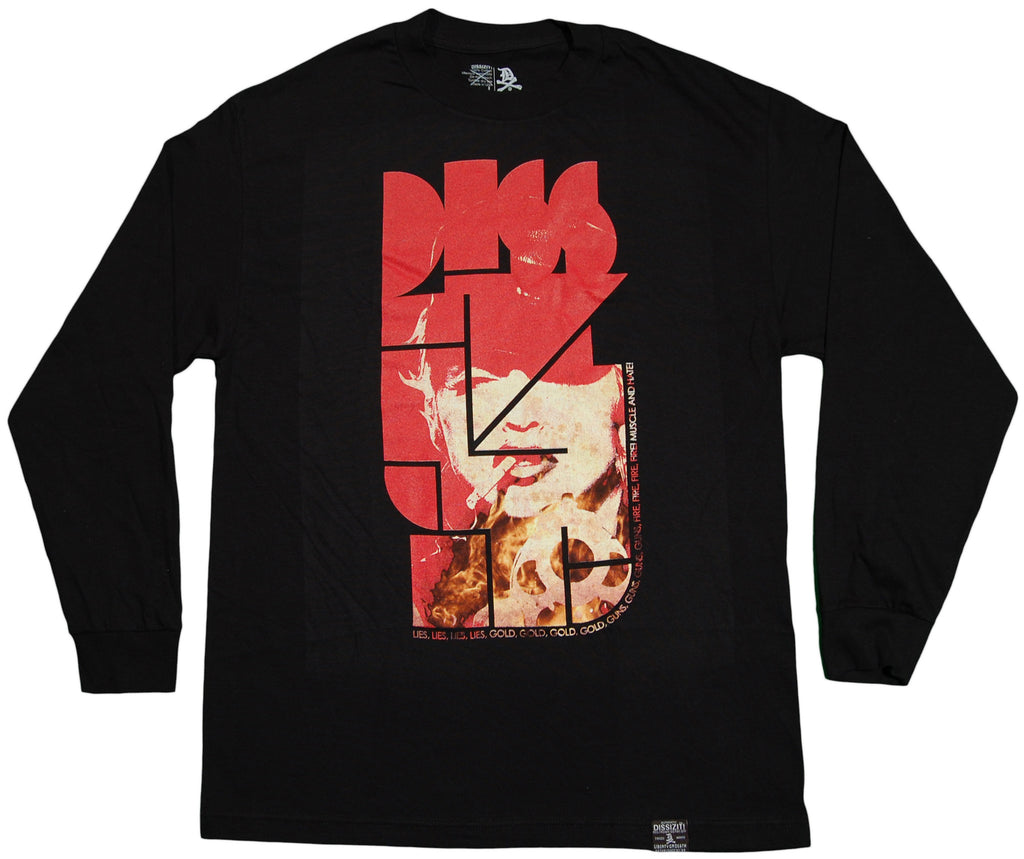 <!--2011101829-->Dissizit! - 'Muscle And Hate' [(Black) Long Sleeve Shirt]
