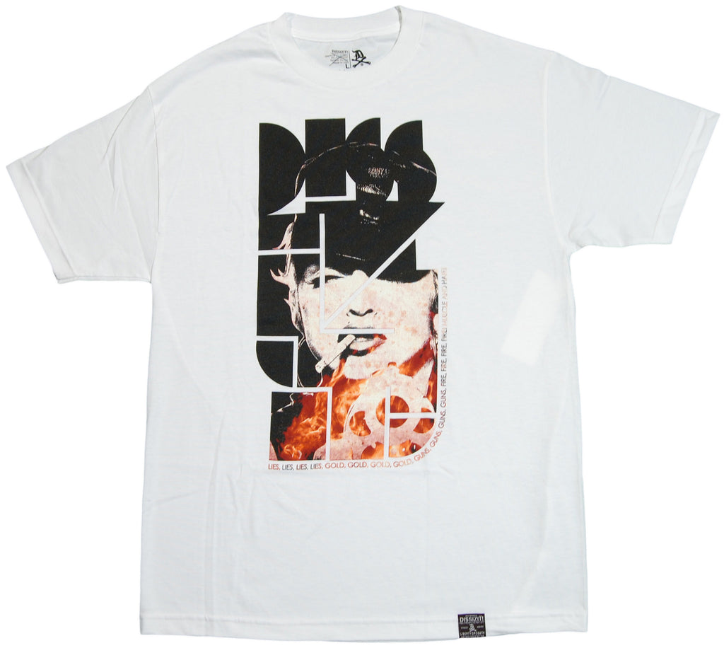 <!--2011101824-->Dissizit! - 'Muscle And Hate' [(White) T-Shirt]