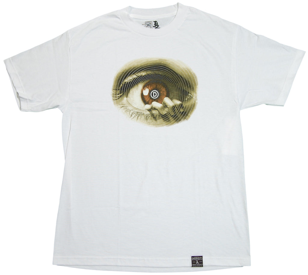 <!--2011101831-->Dissizit! - 'D Eye' [(White) T-Shirt]