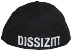 <!--2012062636-->Dissizit! - 'Cali Sk8' [(Black) Fitted Hat]