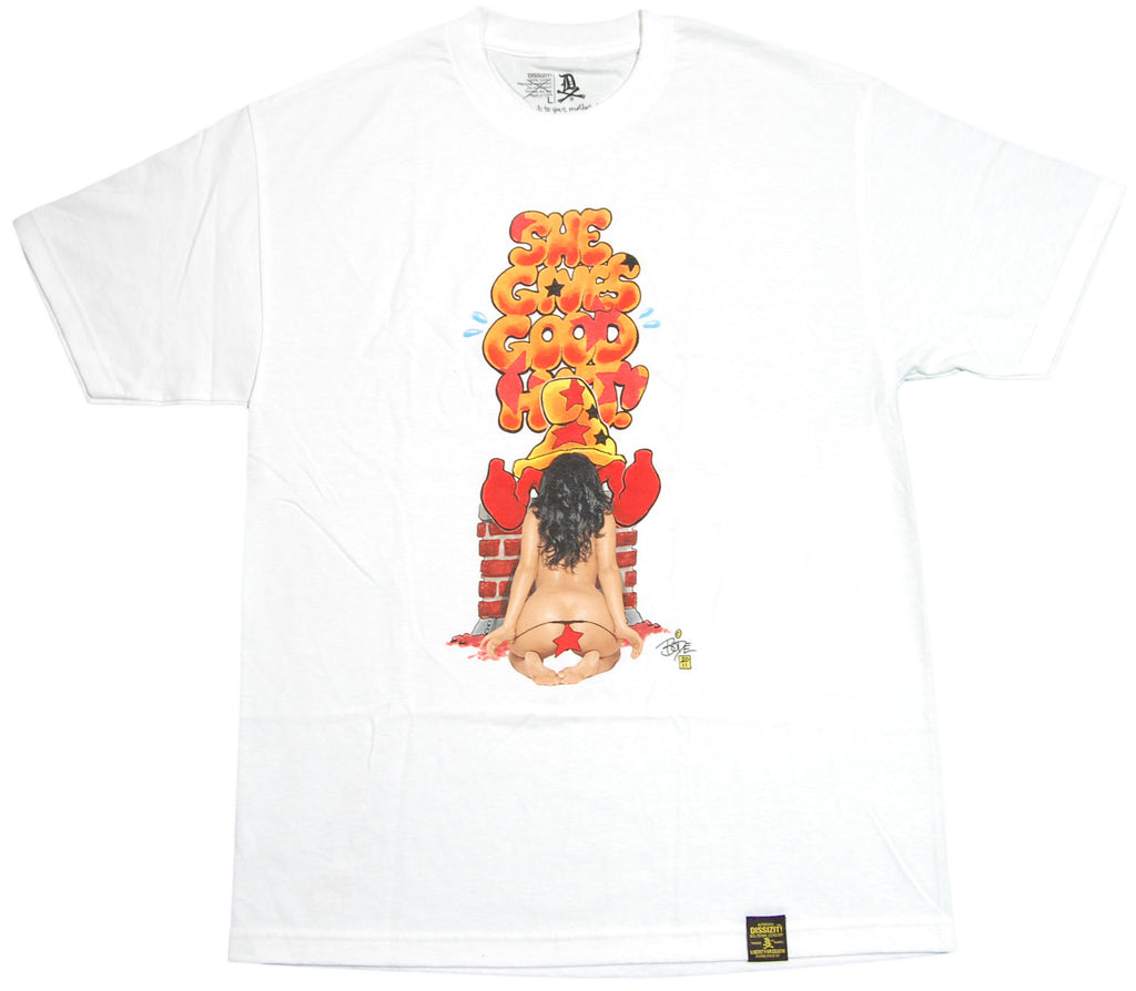 <!--2012062601-->Dissizit! x Bode - 'Good Hat' [(White) T-Shirt]
