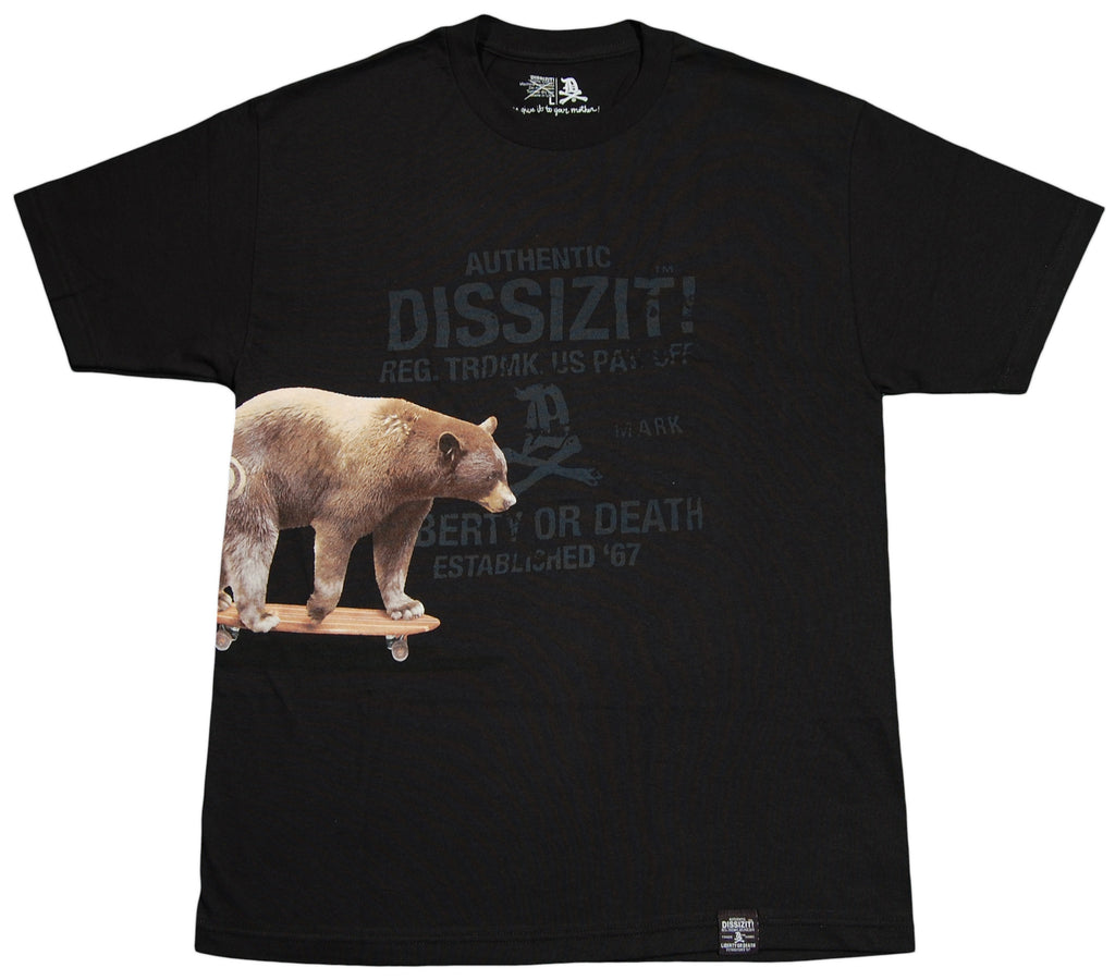 <!--2012062607-->Dissizit! - 'Cali Cruiser' [(Black) T-Shirt]