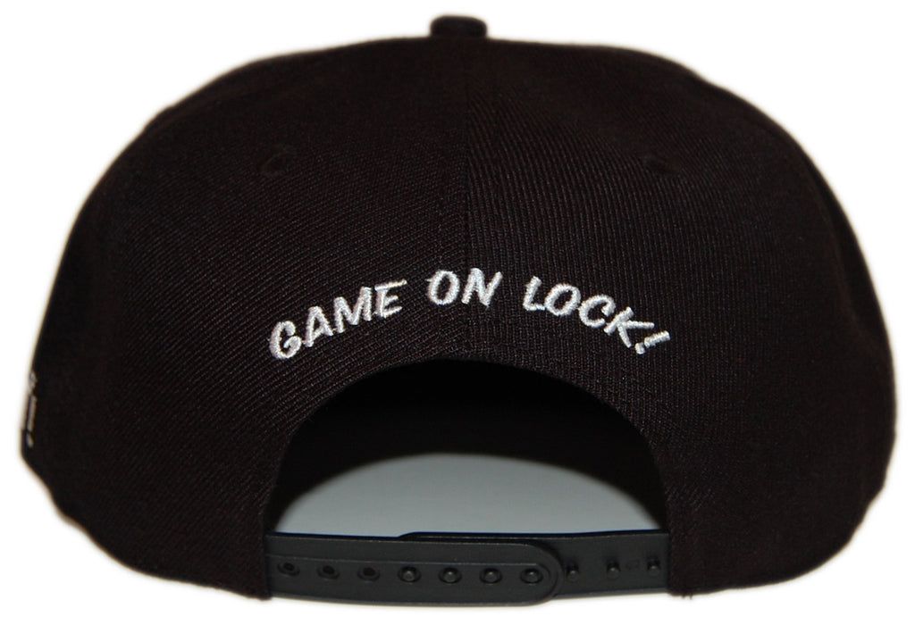 <!--2012101603-->Dissizit! - 'Game On Lock' [(Black) Snap Back Hat]