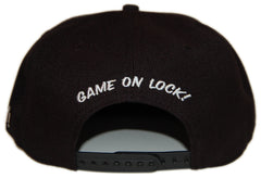<!--020121016050631-->Dissizit! - 'Game On Lock' [(Black) Snap Back Hat]