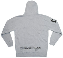 <!--2012101602-->Dissizit! - 'Game On Lock' [(Gray) Hooded Sweatshirt]