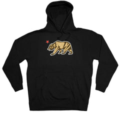 <!--2012090425-->Dissizit! - 'Cali Bear' [(Black) Hooded Sweatshirt]