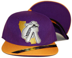 <!--020120904049237-->Dissizit! - 'Cali Glove - Purple/ Gold' [(Purple) Snap Back Hat]