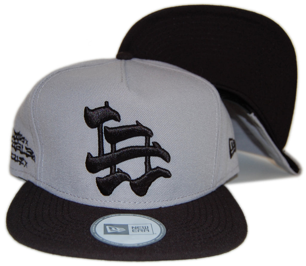 <!--020121016050628-->Dissizit! - 'LA Brush' [(Light Gray) Snap Back Hat]