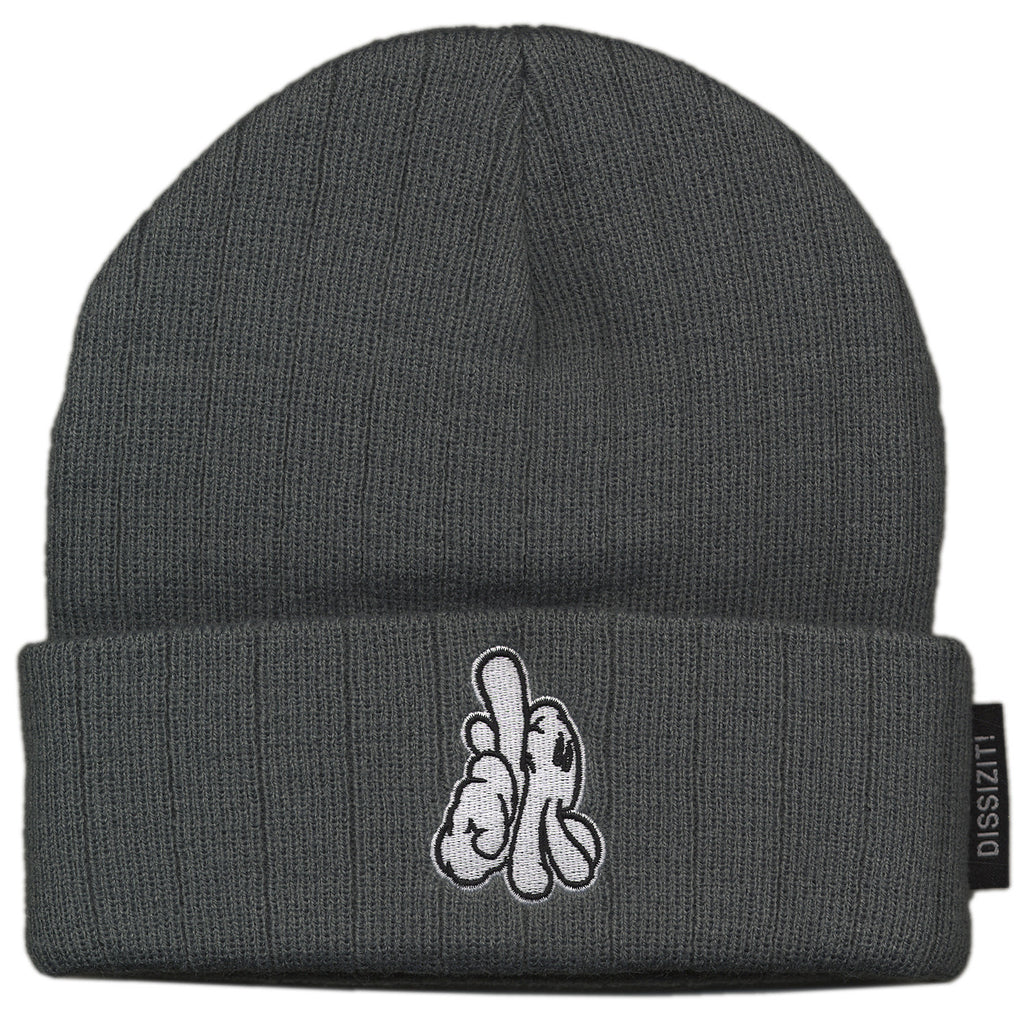 <!--020121016050623-->Dissizit! - 'LA Hands' [(Dark Gray) Winter Beanie Hat]