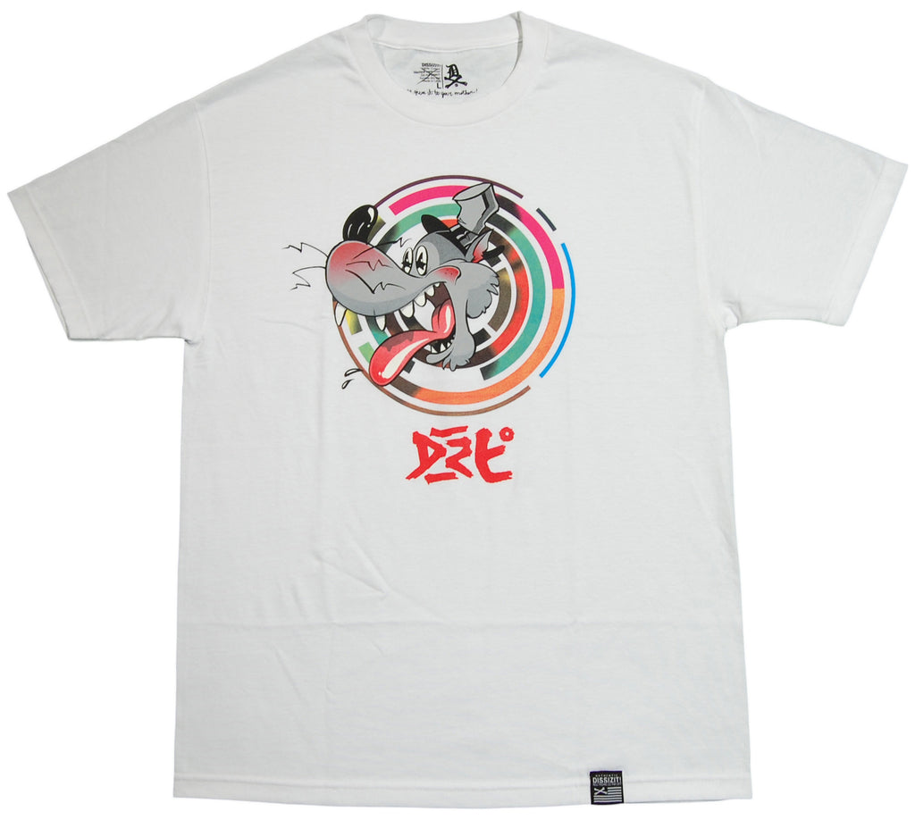 <!--2013051415-->Dissizit! - 'Big Bad Wolf' [(White) T-Shirt]