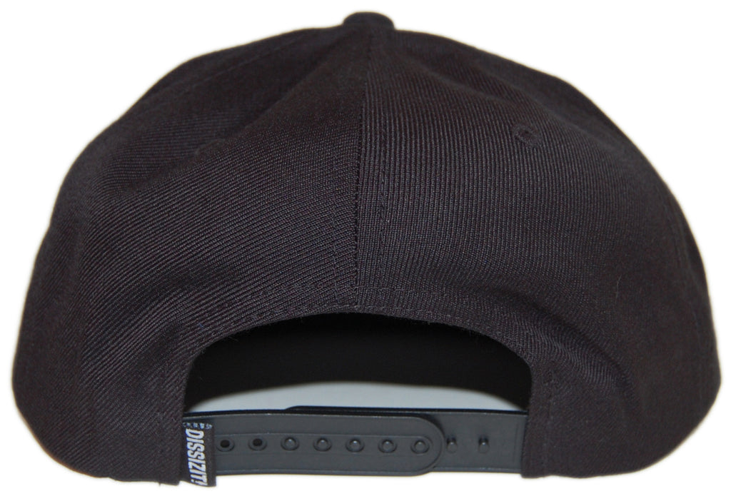 <!--020131008060335-->Dissizit! - 'The Shit' [(Black) Snap Back Hat]