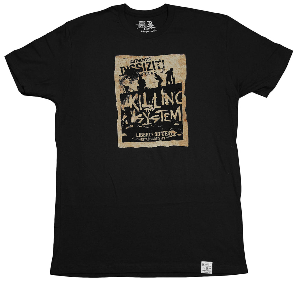 <!--2012042416-->Dissizit! - 'No Joke' [(Black) T-Shirt]