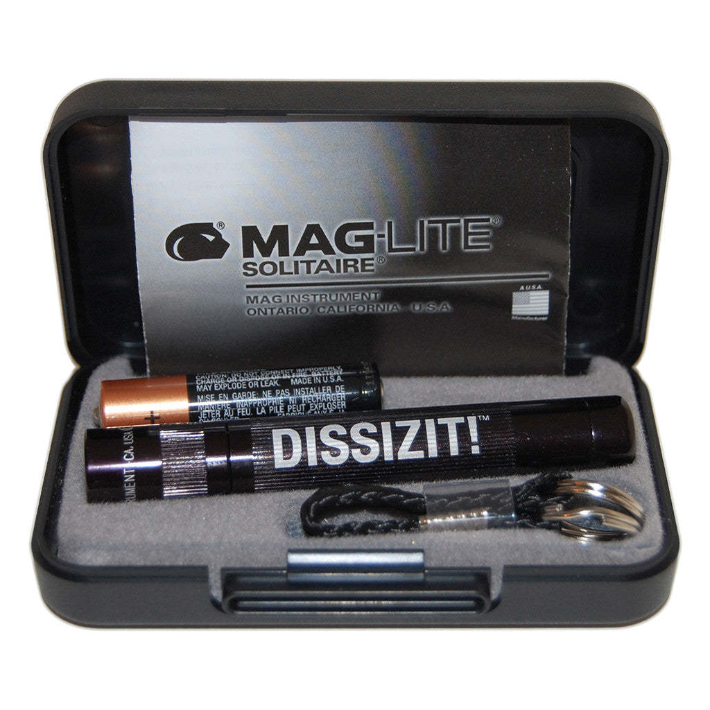 <!--020120424044277-->Dissizit! - 'DxBones Maglite' [(Black) Flashlight]