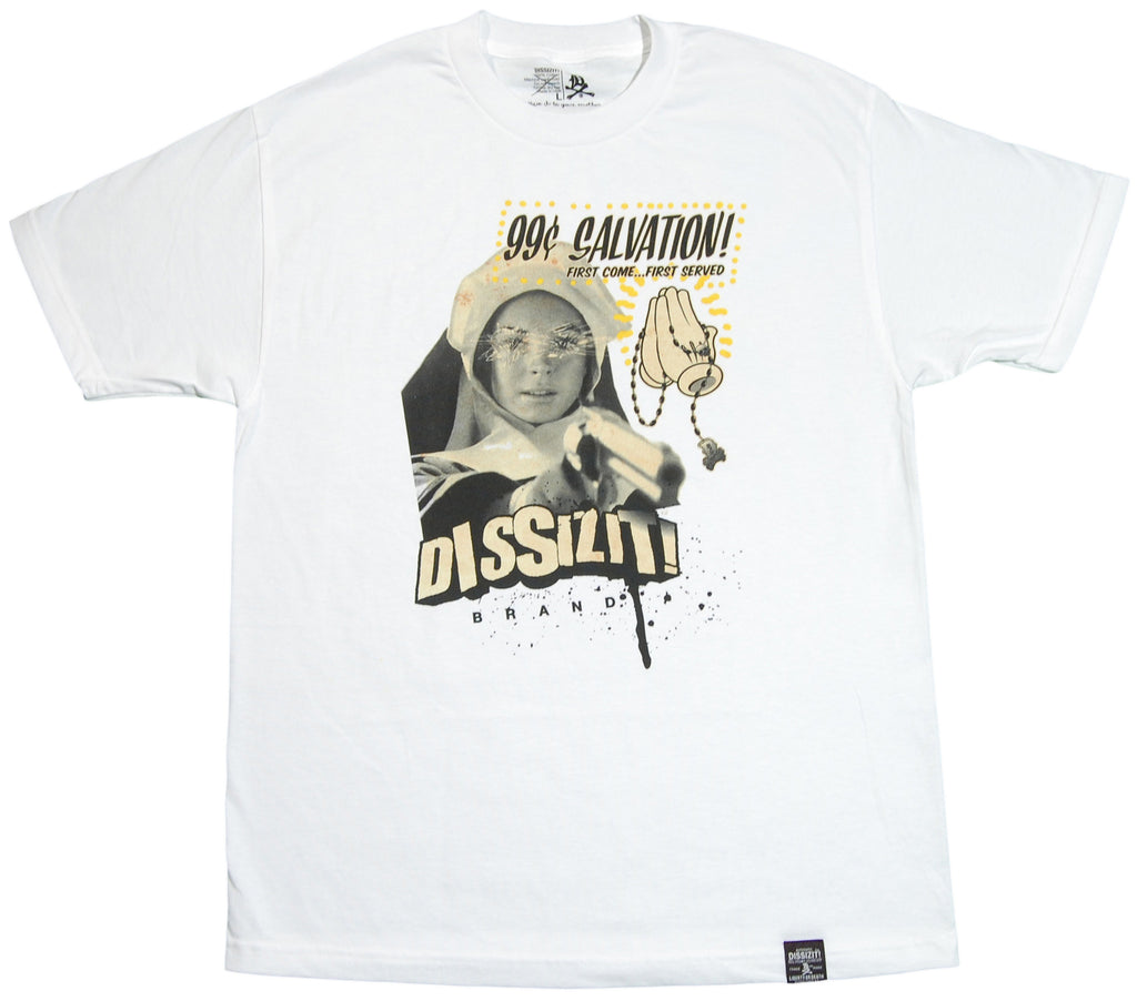<!--2012022833-->Dissizit! - '99 Cent Salvation' [(White) T-Shirt]