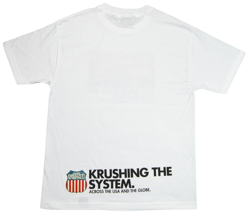 <!--2012042403-->Dissizit! - 'Train Krusher' [(White) T-Shirt]