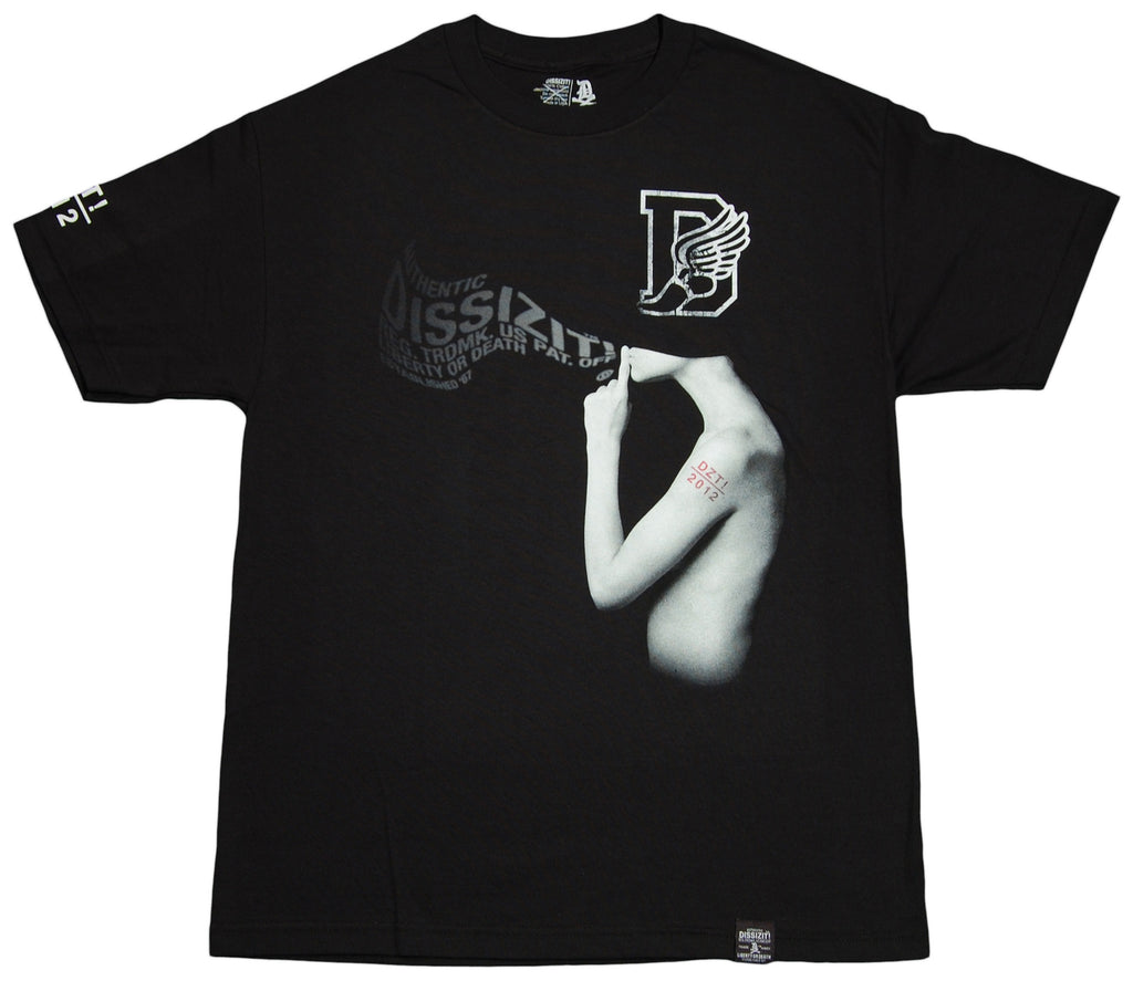 <!--2012042443-->Dissizit! - 'Flying Blind' [(Black) T-Shirt]