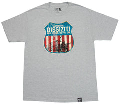 <!--2012042421-->Dissizit! - 'American Made' [(Gray) T-Shirt]