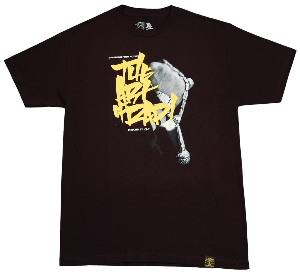 <!--2012071036-->Dissizit! - 'The Art Of Rap: Slick Edition' [(Black) T-Shirt]