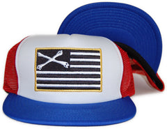 <!--2012022859-->Dissizit! - 'Black Flag Trucker' [(Multi-Color) Snap Back Hat]
