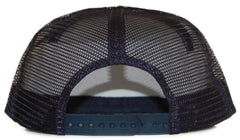 <!--2012042414-->Dissizit! - 'American Made Trucker - Seersucker' [(Dark Blue) Snap Back Hat]